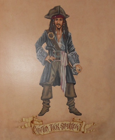 Capt. Jack Sparrow Painting