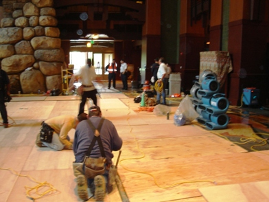 Restoration at the Grand Californian
