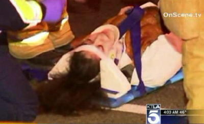 Cop runs over Disneyland Cast Member