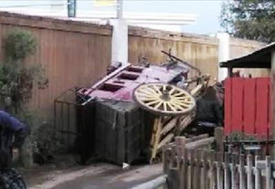 Knott's Stagecoach Accident