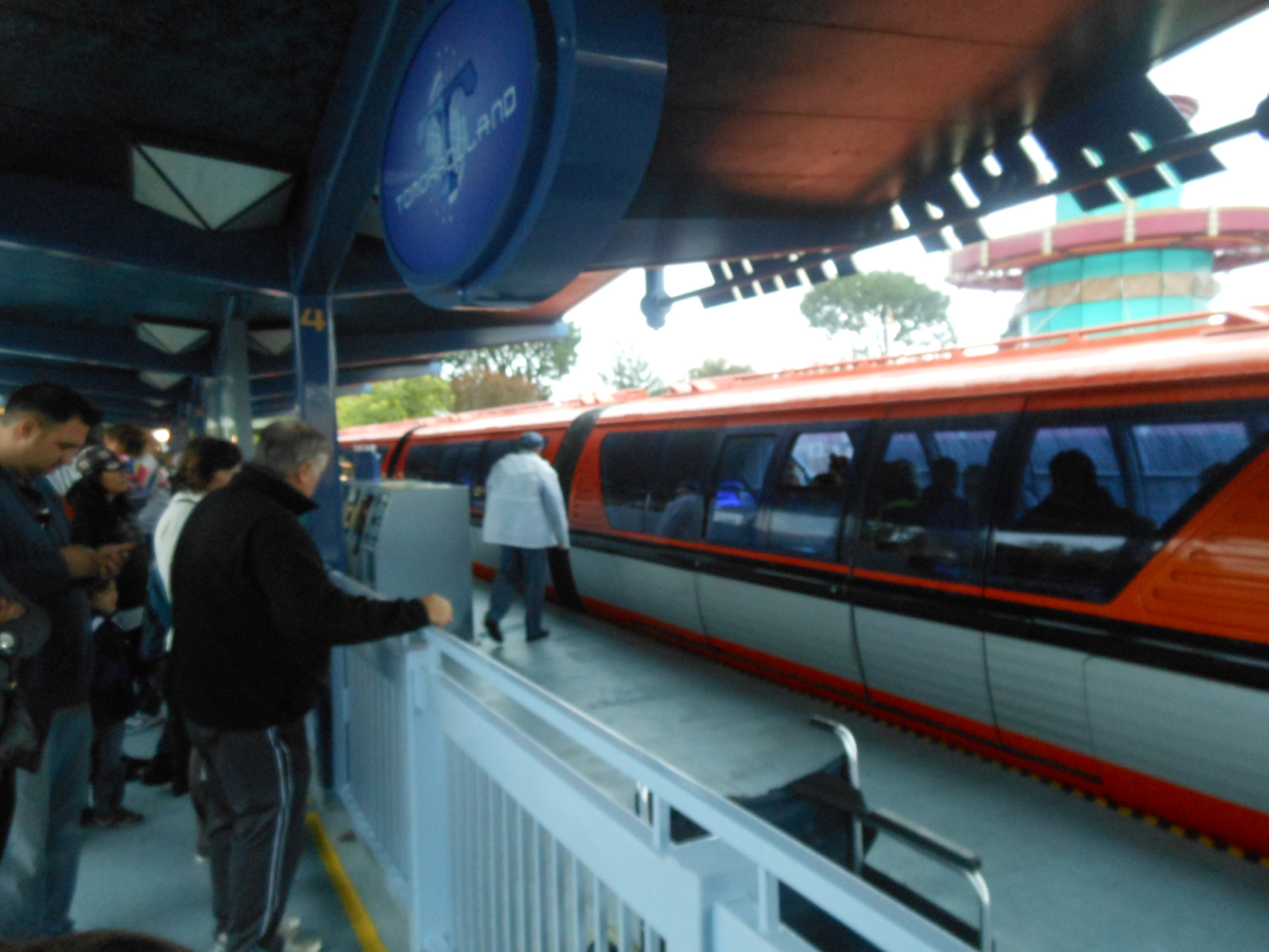Should We Be Worried After A Disneyland Monorail Train Was
