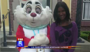 White Rabbit hands off on African American child
