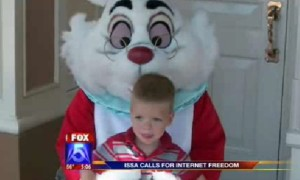 White Rabbit likes white kids