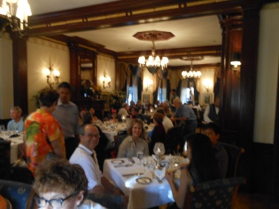 Dining room at Club 33