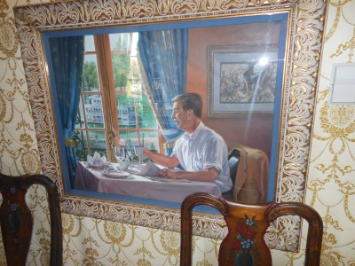 Disney portrait at Club 33
