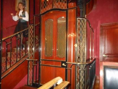 Lobby at Club 33