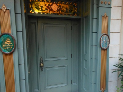 Entrance to Disneyland's Club 33