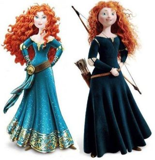 Merida gets tarted up