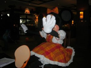 Minnie Mouse at Euro Disney
