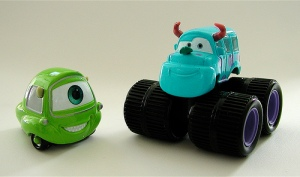 Monsters University Cars