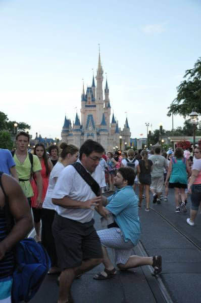 Blown Disney proposal