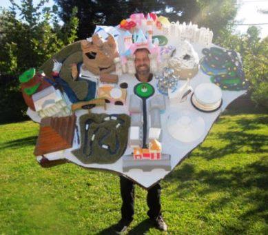 Robert Cockham's Disneyland Halloween Costume