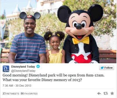 Disney African American Tweet